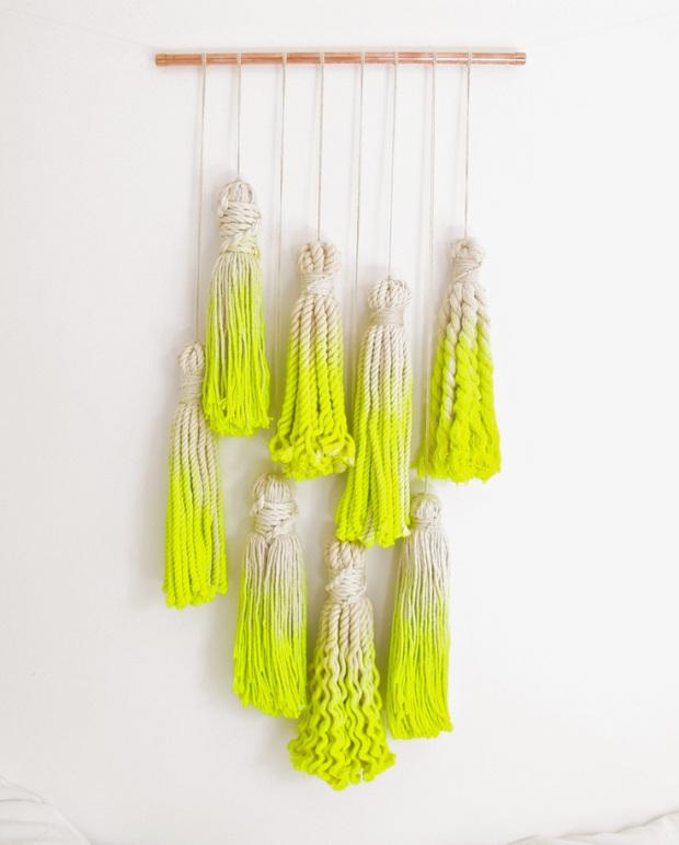 Dipped Neon Tassels